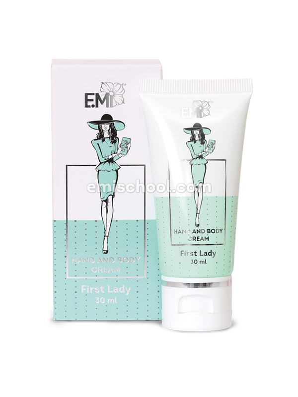 Hand & Body Cream First Lady, 30ml.